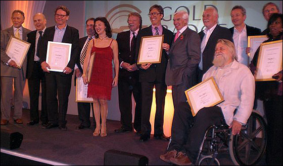 2009 Gold Badge Award Winners
