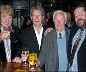 Brian Engel, Brian Hodgson, Brian Willey and Brian Willey Jr