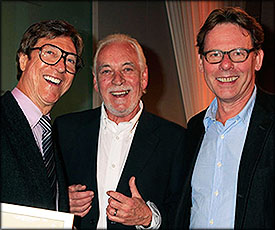 Hank Marvin, Gary Brooker and Hugh Padgham