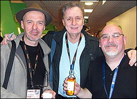Michael Leahy, Hans Edler and Sean Arnold