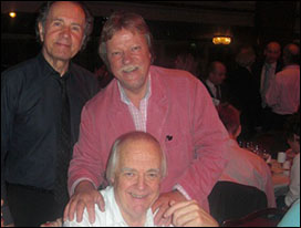 Barry Mason, Guy Fletcher and Sir Tim Rice