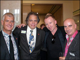 Steve Levine, David Stark, Steve Britton and Tony Moore
