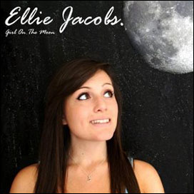 Ellie Jacobs - Girl On The Moon album sleeve