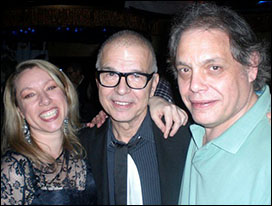 Rowena Morgan (BASCA), Tony Visconti and David Stark