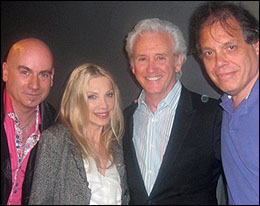 Tony Moore, Lynsey De Paul, Tony Christie and David Stark