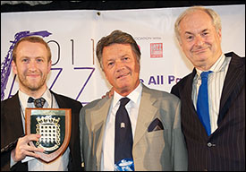 John Turville, Fran Nevrkla, Paul Gambaccini - Jazz Album of the Year