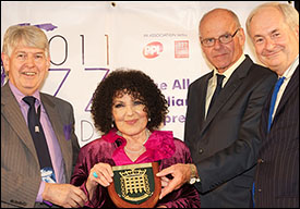 Michael Connarty MP, Dame Cleo Laine, Lord Colwyn, Paul Gambaccini - APPJAG Special Award