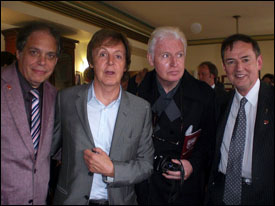 David Stark, Paul McCartney, Mike McCartney, Spencer Leigh