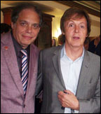 David Stark and Paul McCartney