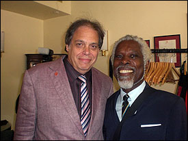 David Stark with Billy Ocean