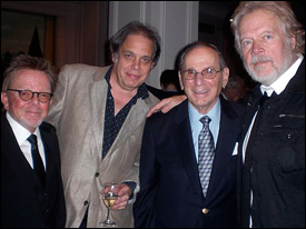 Paul Williams (ASCAP President), David Stark, Hal David, Randy Bachman