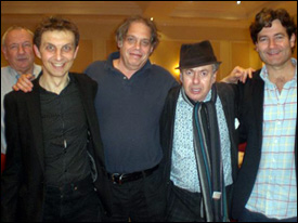 David Hitchcock, Paul Barber, David Stark, Paul Kramer and Pete Woodroffe