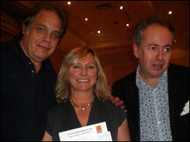 David Stark with Julie Eyre and Paul Kramer