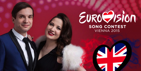 Euro-entrants Electro Velvet: Alex Larke and Bianca Nicholas