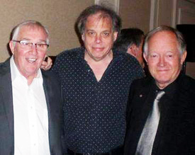 Clem Cattini, David Stark and Brian Bennett (The Shadows)