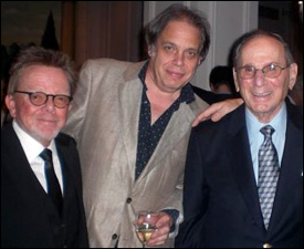 Paul Williams, David Stark and Hal David at the ASCAP London Awards 2011