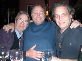 Peter Knight Jr, John Aagaard and David Stark