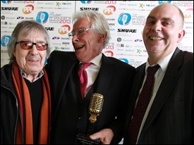 Bill Wyman, Glyn Johns, Ian Dennis