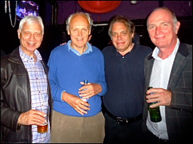Ron McCreight, Iain McNay, David Stark and Paul Curran