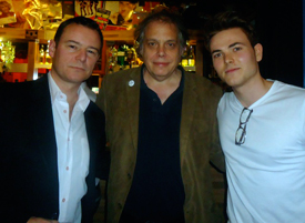 David Stark with Andrew Lancel and Will Finalson