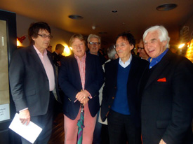 Mike Read, Guy Fletcher, Don Black and Bill Martin