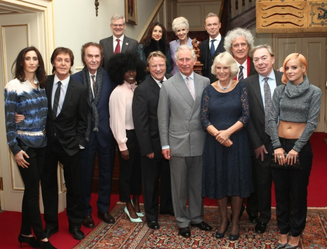 PRS group photo with Prince Charles