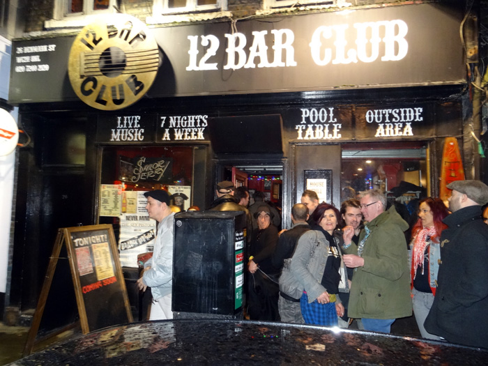 The 12 Bar Club - now closed