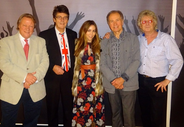 Guy Fletcher, Mike Read, Victoria Horn, Barry Mason and Gary Osborne