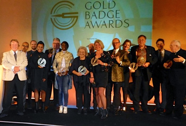 Gold Badge Awards winners