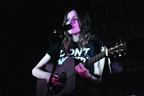 Gabrielle Aplin on stage at The Music Cafe, Sundance London