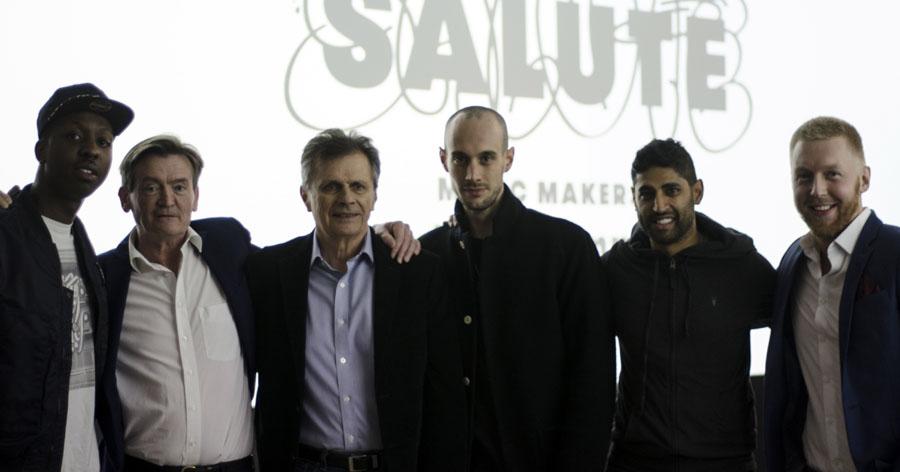 The Salute team