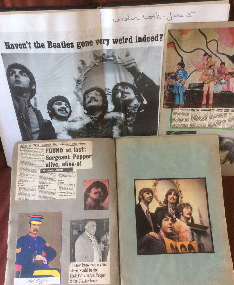 David Stark's 1967 scrapbooks