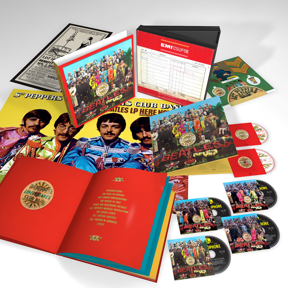 Sgt. Pepper multi-CD/DVD pack