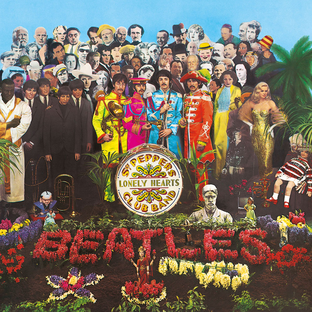 Sgt. Pepper album sleeve