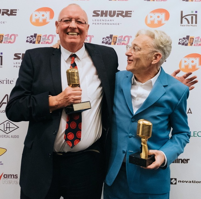 Clive Langer & Alan Winstanley - Outstanding Contribution Award (Photo: Jennifer McCord)