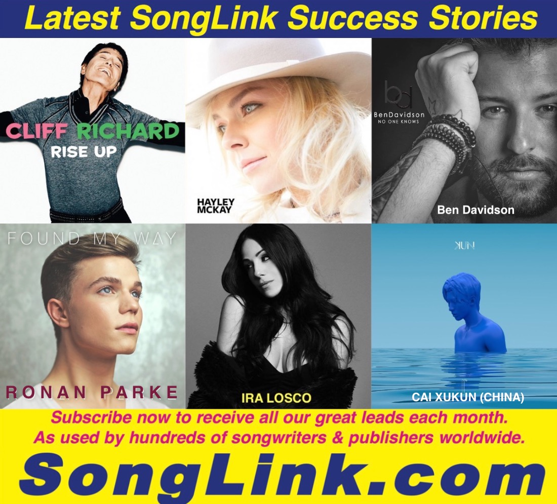 LATEST SONGLINK SUCCESS STORIES